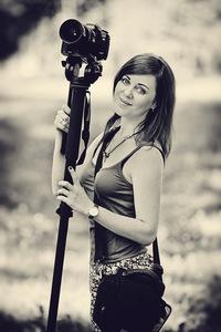 Фотограф в фотостудии