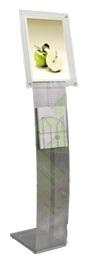 Комбинированная рекламная стойка для печатной продукци