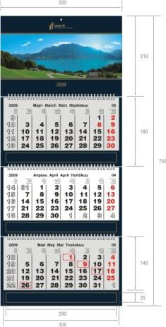 Календарь Стандарт