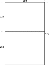 Календарь Моно - Эконом разметка